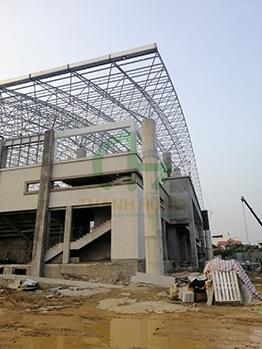 Khảo sát lắp đặt thang máy 750kg - CT nhà thi đấu đa năng Huyện Kinh Môn