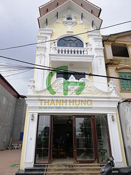 Bàn giao công trình thang máy gia đình 450kg tại Gia Lâm - CĐT Ông Quang